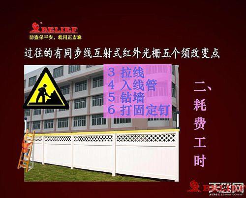 免同步线互射红外光栅 在防盗报警系统设计方案的应用